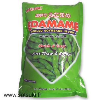 Salted & boiled edamame 454g