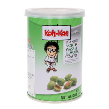 Nori wasabi peanuts in jar 115g Koh-Kae