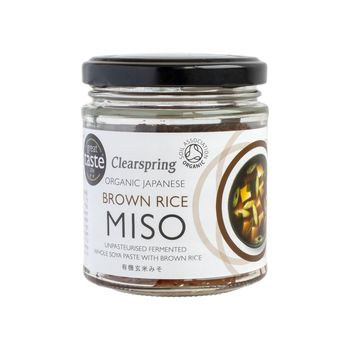 Clearspring organic unpasteurised brown rice miso 150g