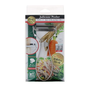 Stainless Steel Peeler Julienne