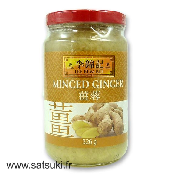 Minced ginger in pot 326g