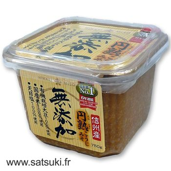 Miso kôji sans additif en pot 750g