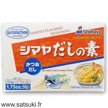 Bonito dashi stock powder 50g (10x5g)