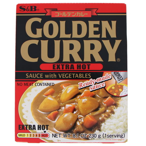 Instant vegetable curry Extra.hot 230g