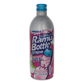 Sangaria ramune bottle grape 500ml