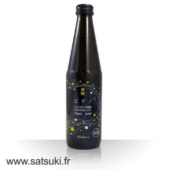 Sake pétillant Piano 300ml - 5%