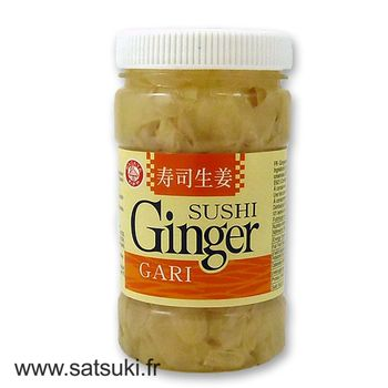 Sushi ginger White in Jar 200g