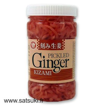 Pickled shredded ginger in jar 200g