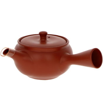 """Red teapot with filter """"Freshness"""" 340ml"""
