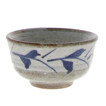 """Sake cup """"Leaves from China"""" 5.2cm x 4cm"""