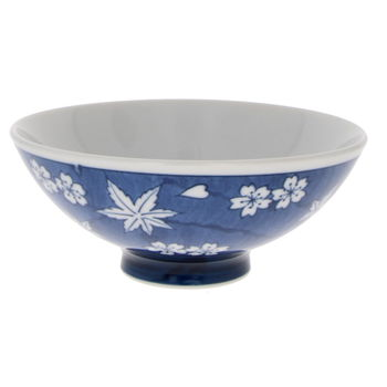 "Japanese rice bowl ""spring & fall"" 11.8cm x 5cm"