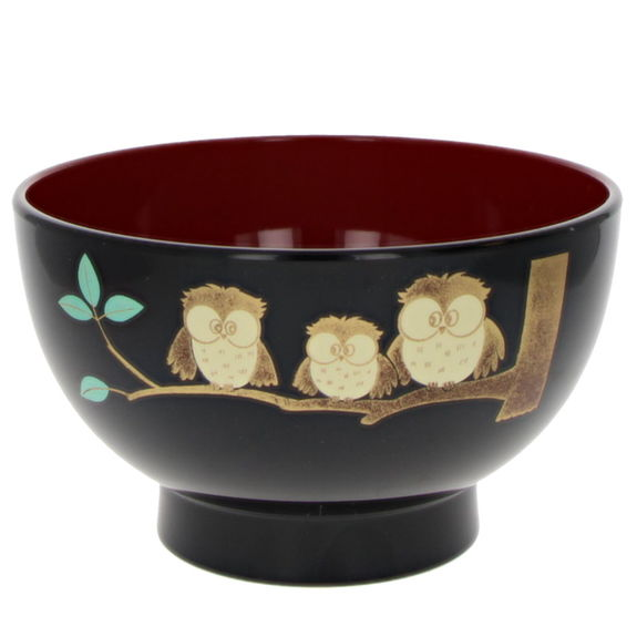 """Bowl for miso soup """"3 Owls"""""""