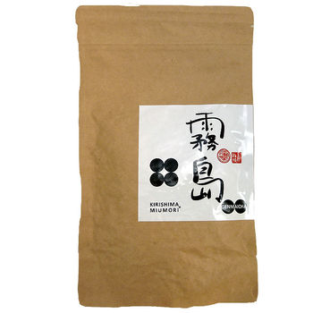 Kirishima organic genmaicha roasted rice tea 100g