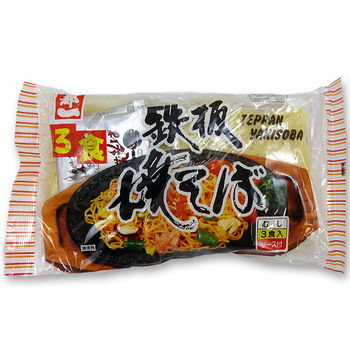 Miyakoichi teppan yakisoba fried noodles 480g 3 servings