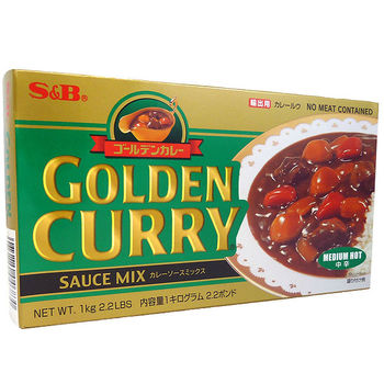Golden curry sauce Med.Hot 240g - 12 servings