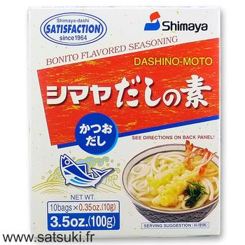 Bonito dashi stock powder 100g (10x10g)