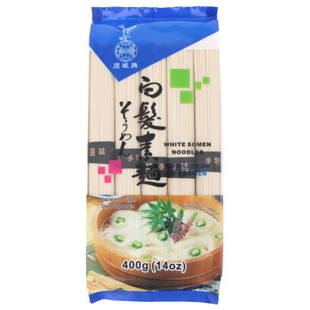 White thin somen noodles 400g  (5x80g)