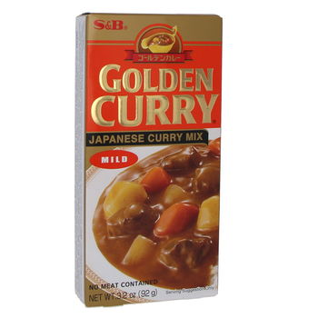 Golden curry sauce Mild 92g - 5 servings