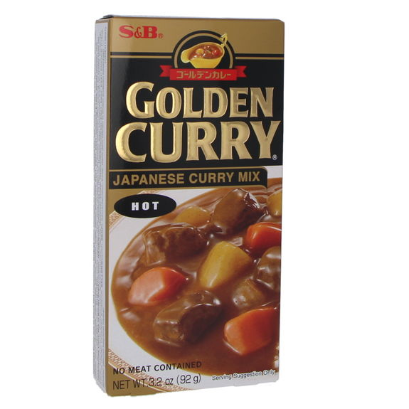 Golden curry sauce mix Hot 100g