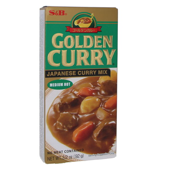 Golden curry Med. Hot 100g