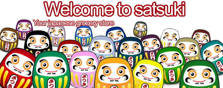 Welcome to satsuki, your japane grocery store