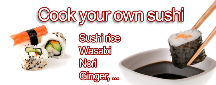Cook your own sushi