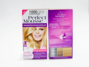 1000 schwarzkopf coloration perfect mousse blond perle 1000 - Coloration Blond Perle