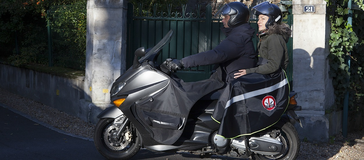 | SKIRTEX 49,90€ | ONE MODEL for drivers and passengers, fits all scooters and motorcycles