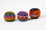 Balles rasta multicolore - lot de 3