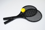 Set initiation tennis (L 53 cm) 2 raquettes + 2 balles