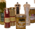 CONDIMENTS, HUILES, SAUCES etc.