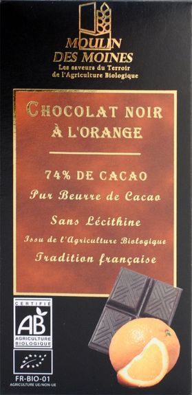 Chocolait noir à l'orange
