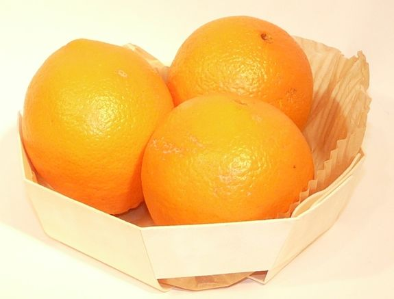Oranges de table Bio