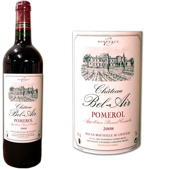 "BEL AIR ""POMEROL"" 2008"