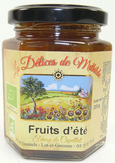 CONFIRETTE FRUITS  D'ETE