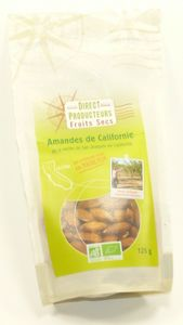 AMANDES DECORTIQUEES 125GR