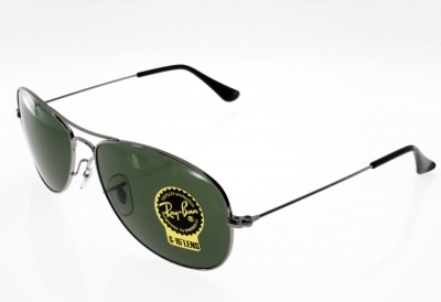 RAY BAN Cockpit Argent/G15