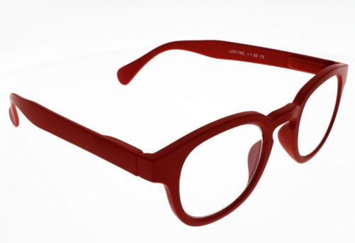 """Lunettes de Lecture LOUPES Oxford Rouge """"""""the new trend"""