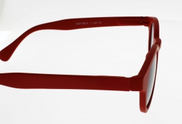 "Lunettes de Lecture LOUPE SOLAIRE Oxford Rouge """"the new trend"""" Indice 2"