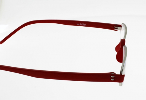 "Lunettes de Lecture LOUPES Notary Rouge """"the new classic"