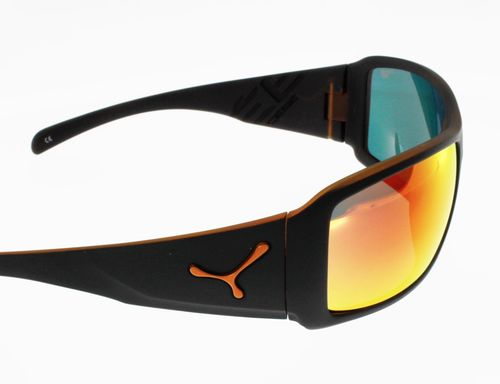 Lunettes de Soleil CEBE UTOPY MATT BLACK ORANGE