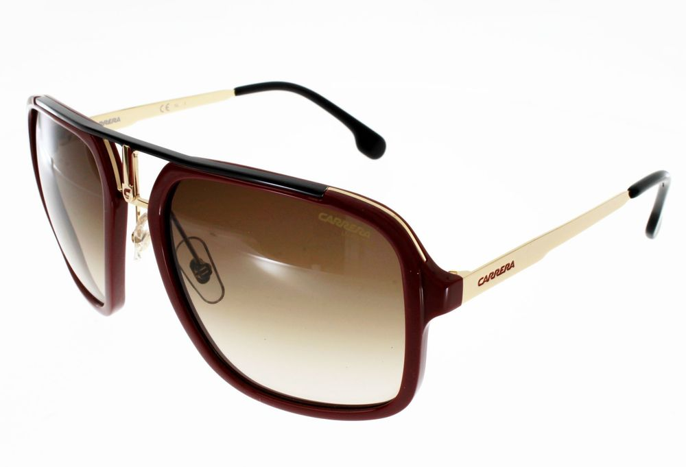 Lunettes de soleil CARRERA 1004/S RED GOLD  Grande Taille