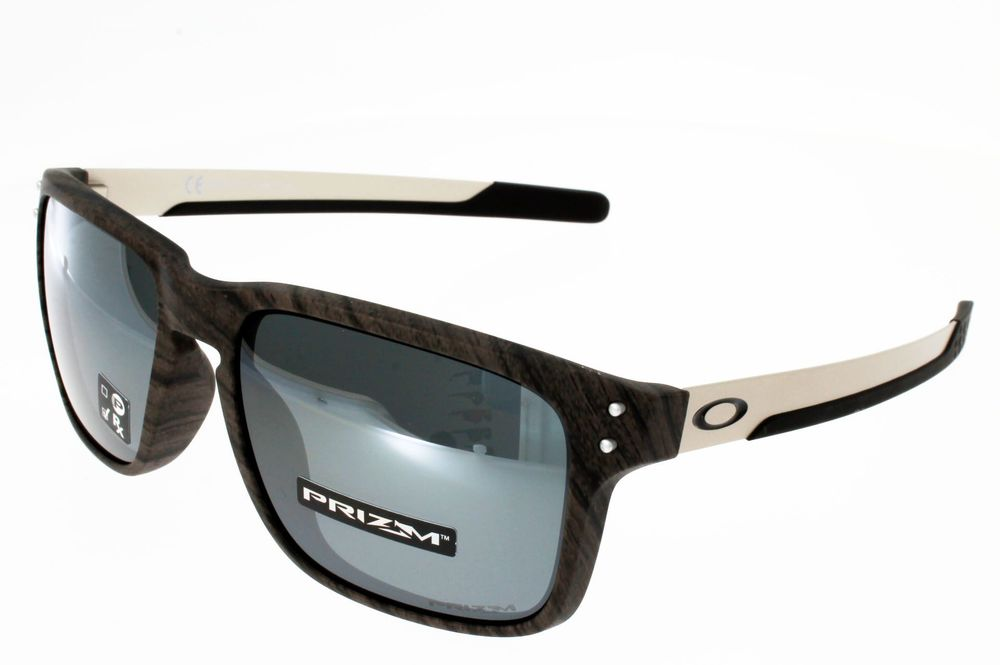 OAKLEY HOLBROOK MIX PRIZM WOODGRAIN BLACK IRIDIUM