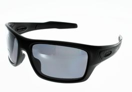 Lunettes de Soleil OAKLEY  TURBINE  MATTE BLACK GREY POLARIZED