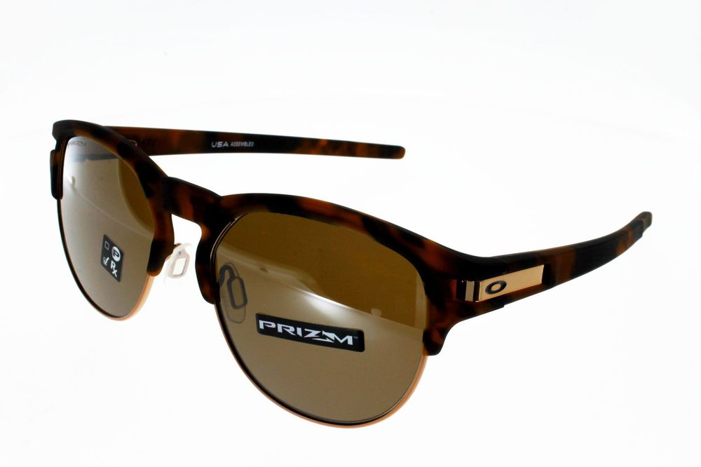 Lunettes de Soleil OAKLEY LATCH KEY BROWN TORTOISE PRIZM TUNGSTEN