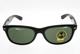RAY BAN  new Wayfarer noir brillant