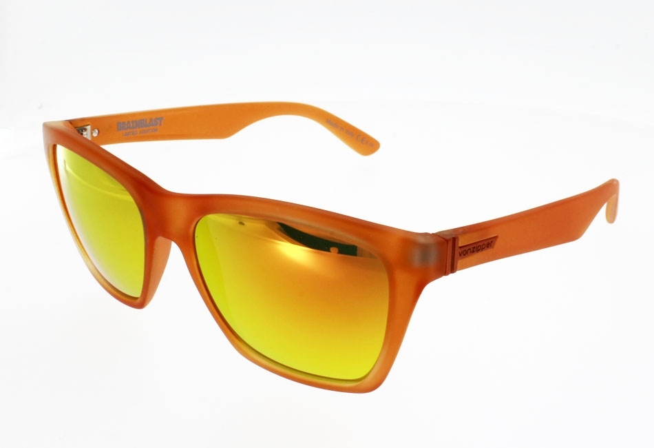 VON ZIPPER BOOKER ORANGE METALLIC