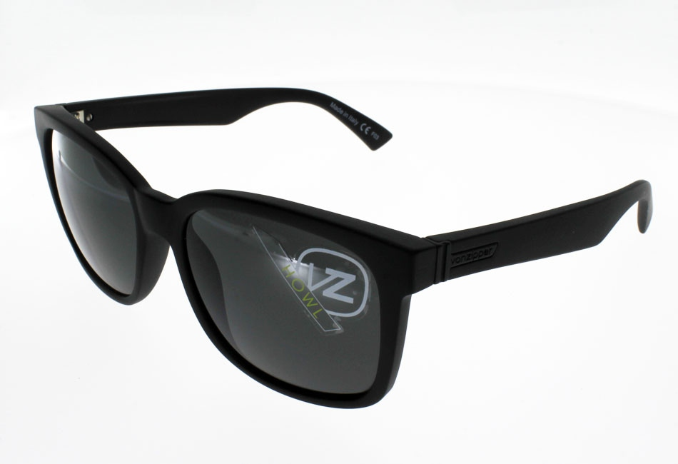 VON ZIPPER HOWL BLACK SATIN
