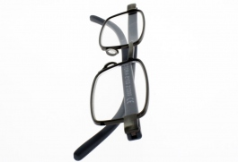 Lunettes de Lecture LOUPE SUPERSLIM ALU GRISE EXTRA PLATE