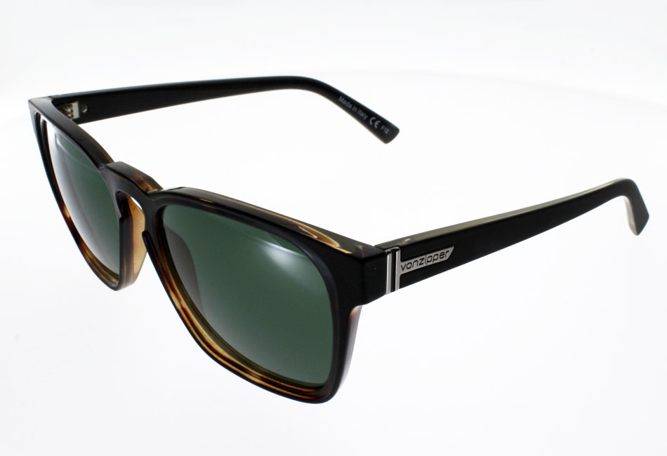 VON ZIPPER LEVEE BLACK SATIN TORTOISE